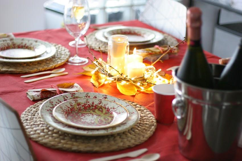 Mesa navideña de cartón con Elegance Party - Decorar en familia