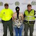 Capturan a mujer  en Puerto Carreño por violencia intrafamiliar agravada