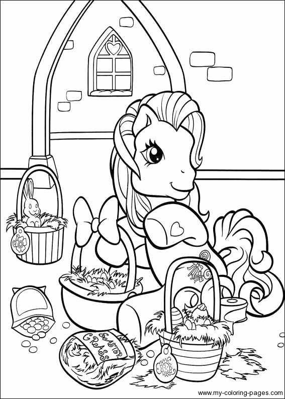 my little pony on work coloring page my little pony title=