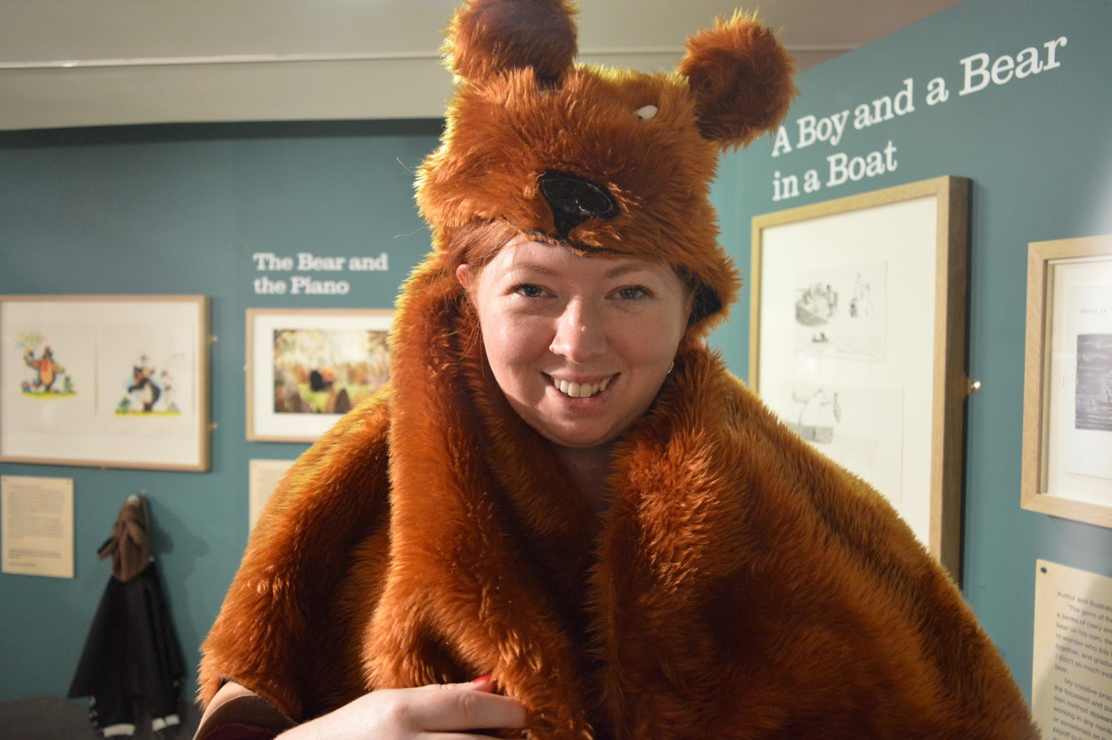 Seven Stories Newcastle | Parking & Admission plus Bears! Exhibition Review - bear dress up costume