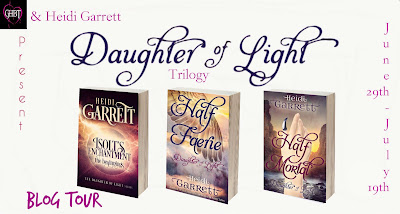 Blog Tour! Daughter of Light Trilogy by Heidi Garrett