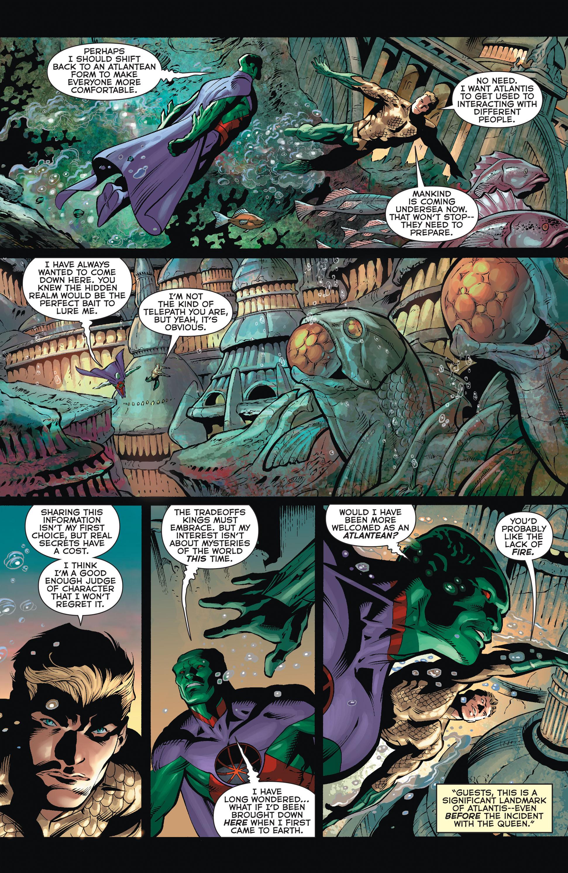 Read online Aquaman (2011) comic -  Issue #36 - 5
