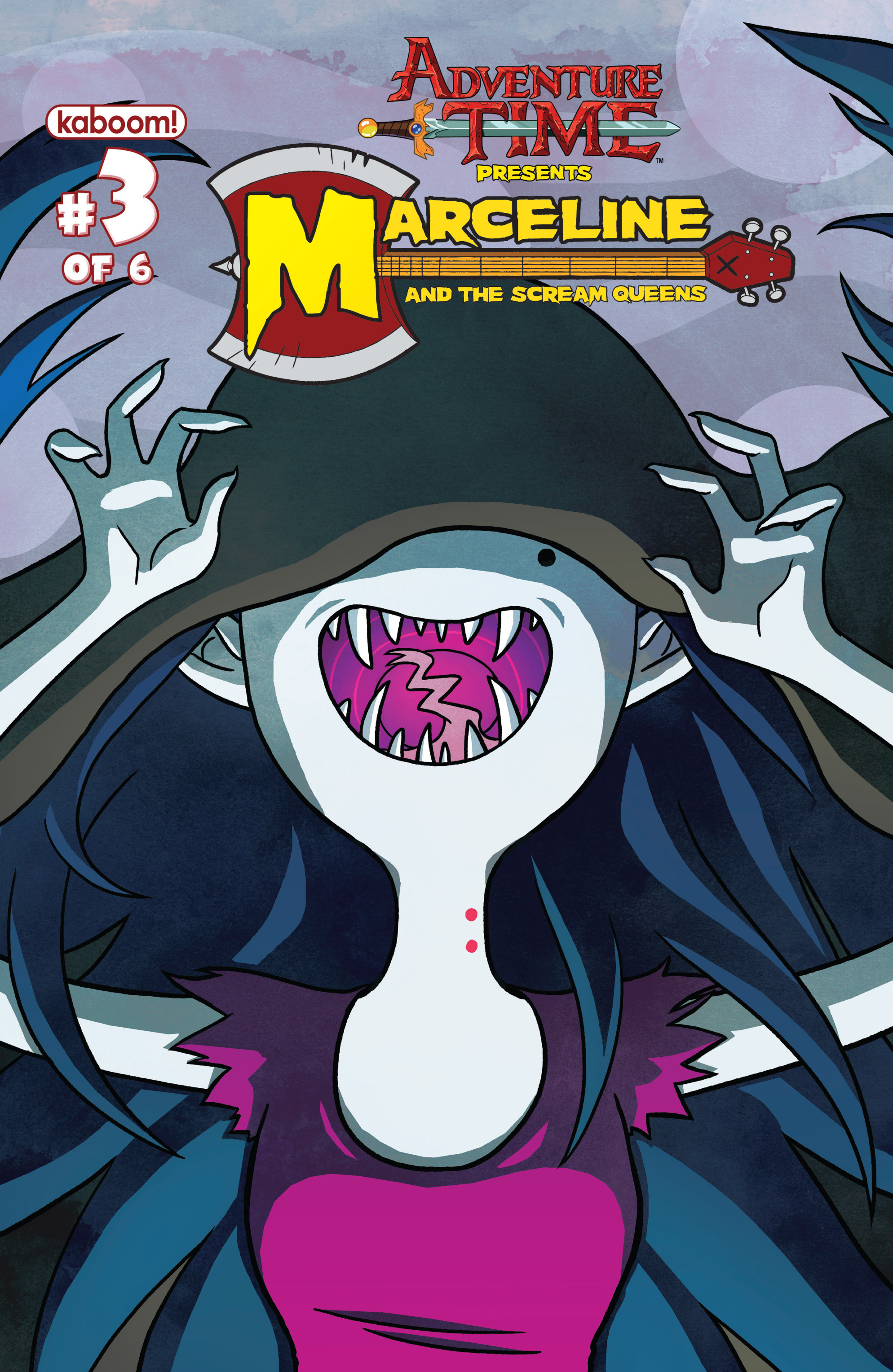 Read online Adventure Time: Marceline and the Scream Queens comic -  Issue #3 - 1