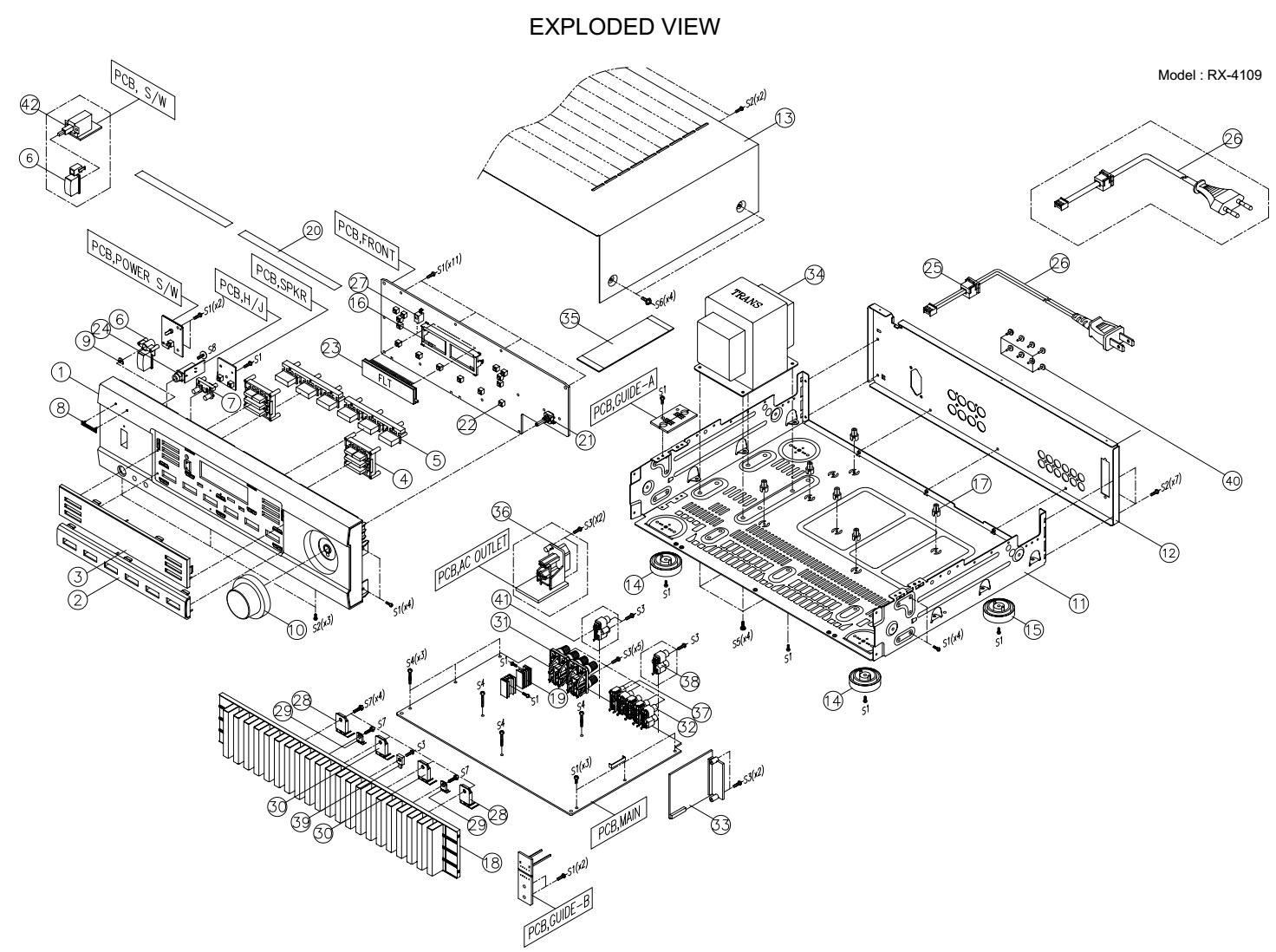 Sherwood Rx Circuit Diagram