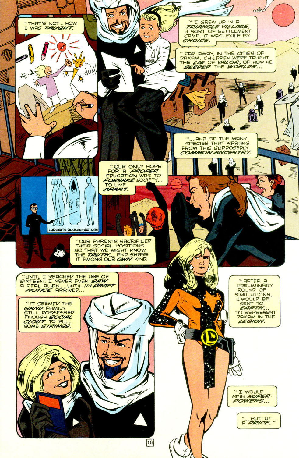 Legion of Super-Heroes (1989) 70 Page 19