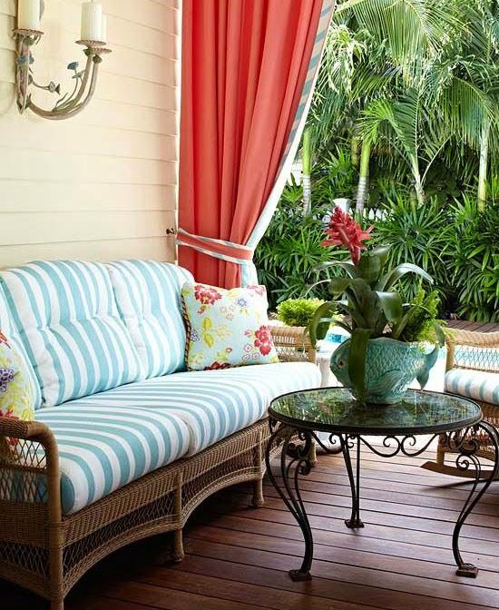 Palm Beach Style Porch