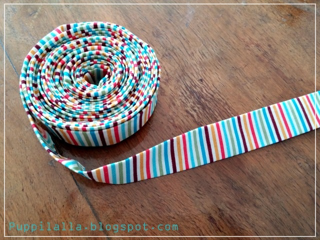 Bias Tape, Patchwork, Puppilalla, Binding