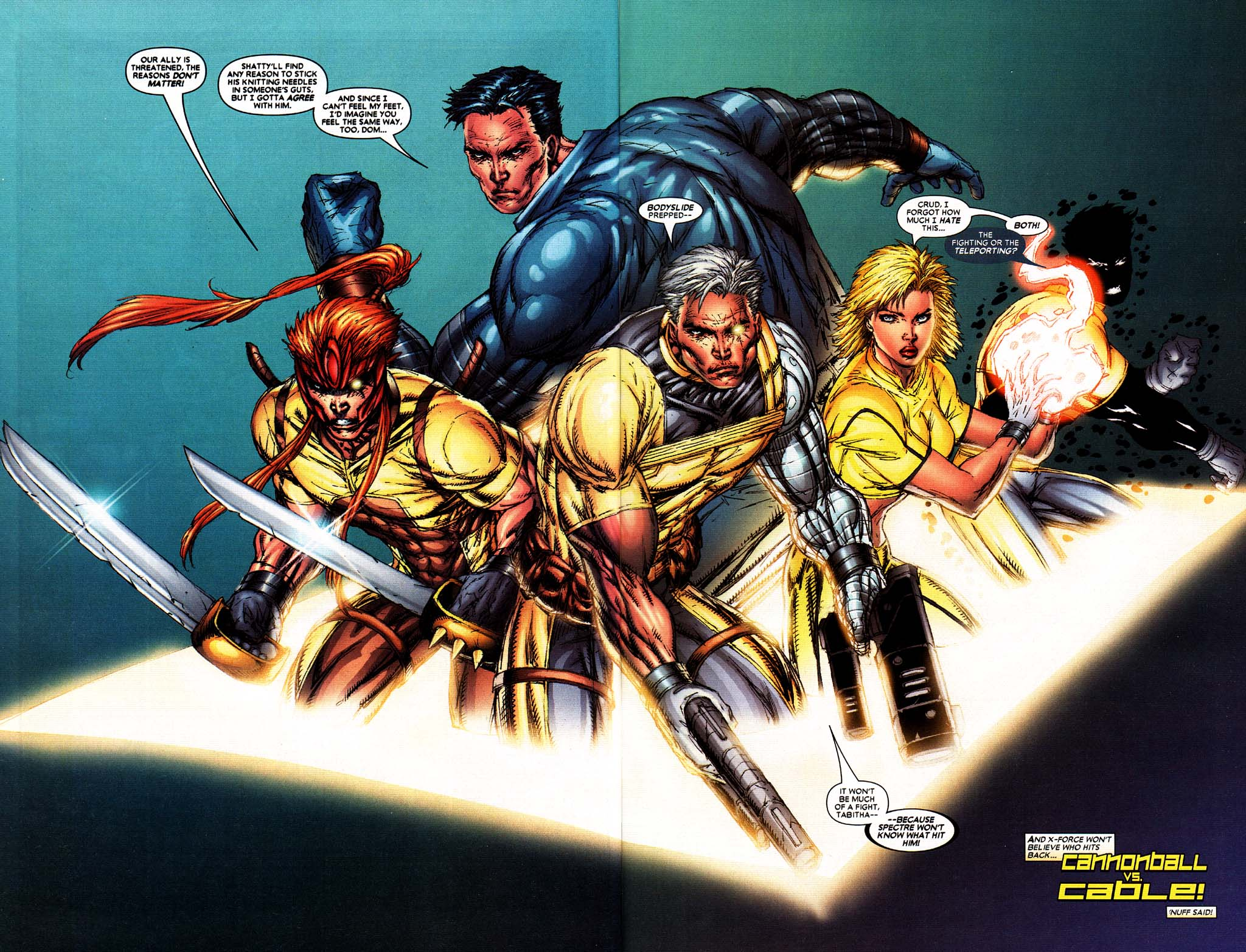 Read online X-Force (2004) comic -  Issue #2 - 21