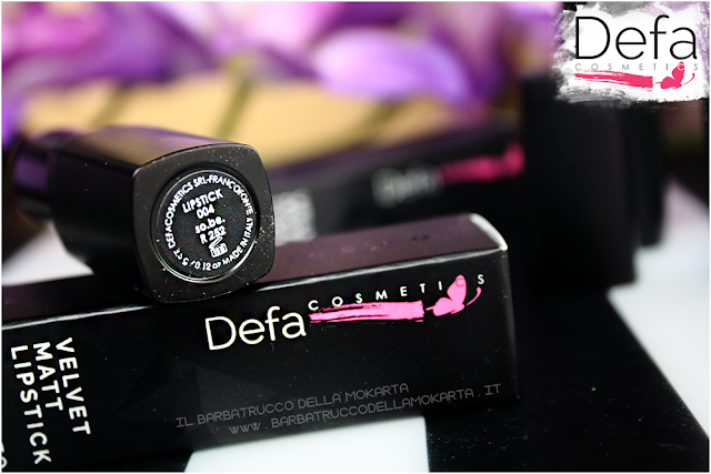 bio makeup so.be. Defa cosmetics lipstick recensione