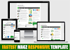 4 Blogger Template Responsive Mobile, Simpel, dan SEO Friendly