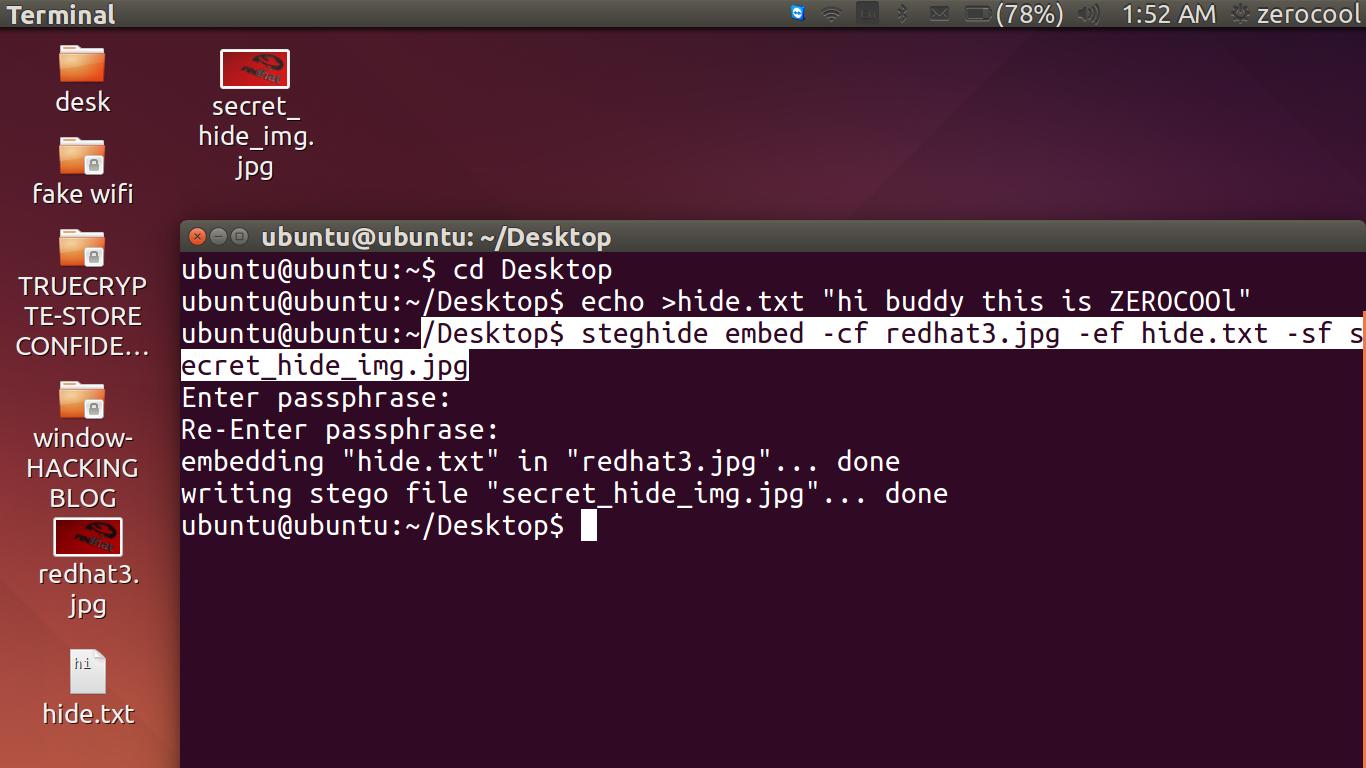 steghide para ubuntu