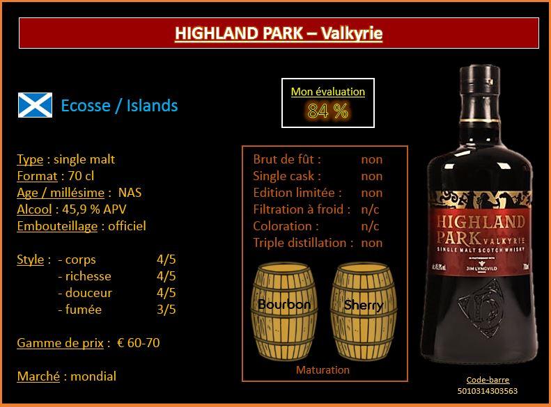 Review # 483: Highland Park - Valkyrie