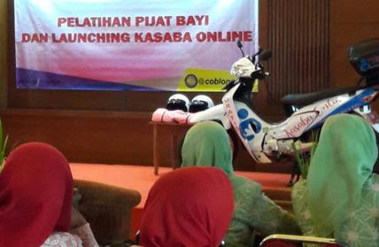 Kasaba, Layanan Bayi dan Anak Berbasis Online di Kec. Coblong