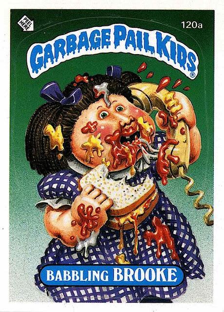 Art Spiegelman Garbage Pail Kids, Babbling Brooke, etiquette
