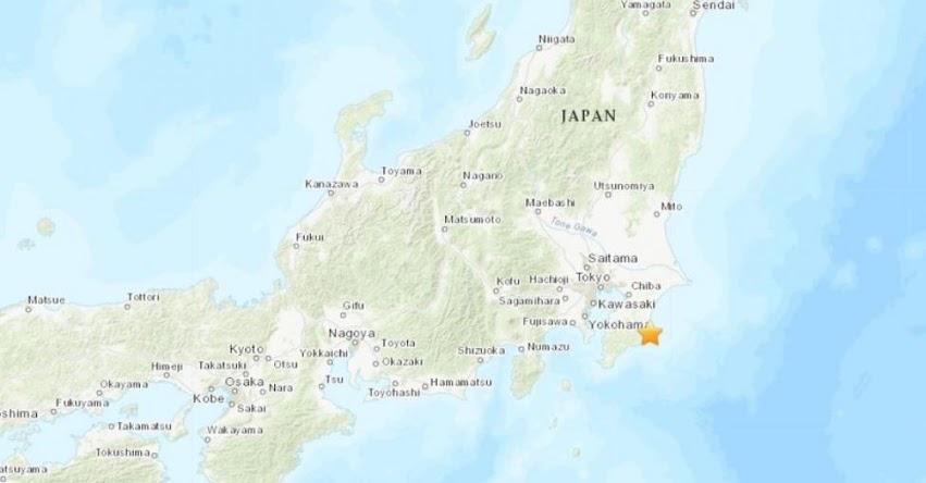 Terremoto en Japón de Magnitud 5.1 y Alerta de Tsunami (Hoy Sábado 25 Mayo 2019) Sismo - Temblor - EPICENTRO - Chiba - Tokio - USGS