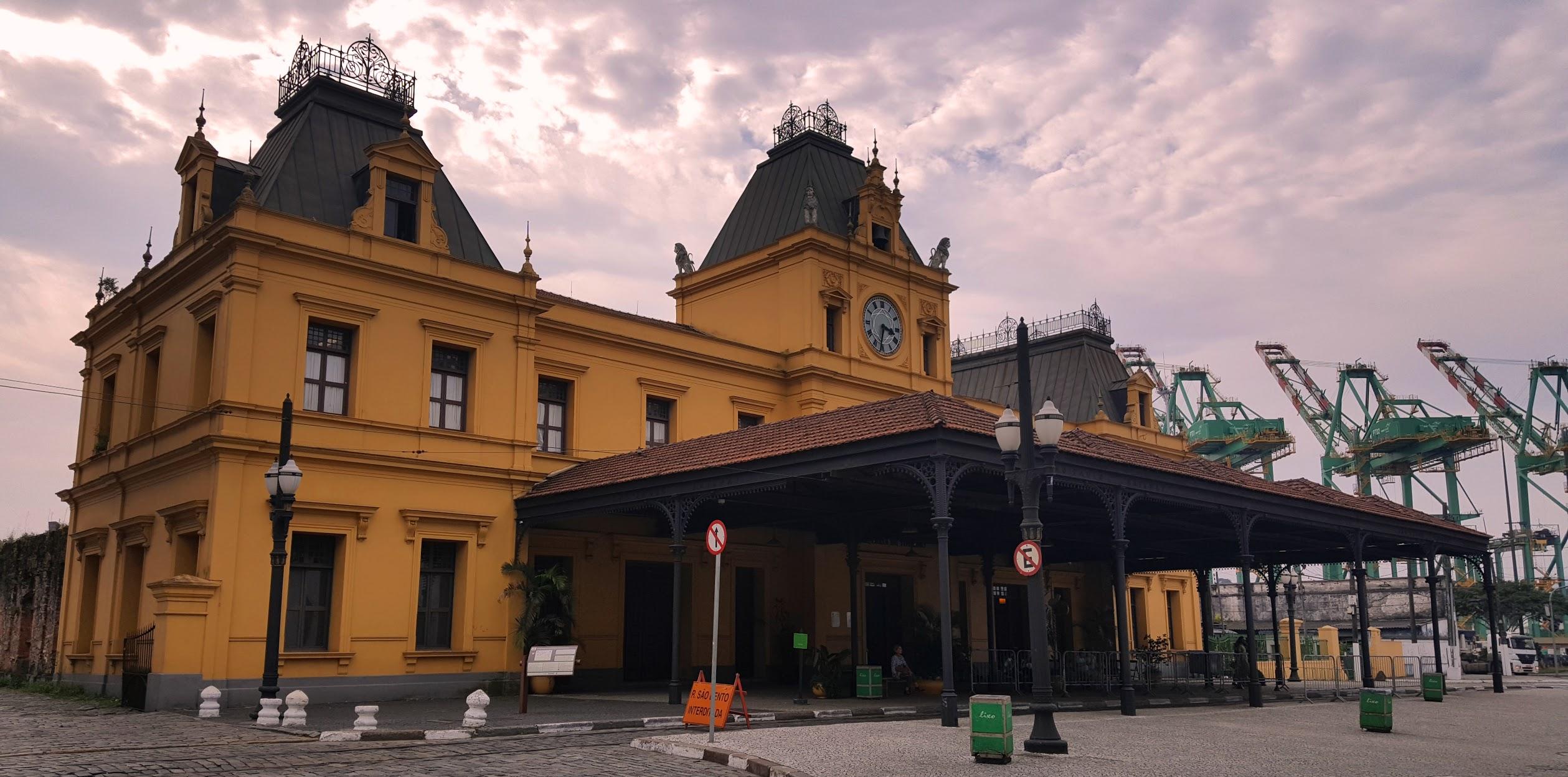 Estação de Trem do Valongo em Santos