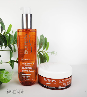 "Biotherm TOTAL RENEW OIL, TOTAL RENEW BALM  ""Biosource"""