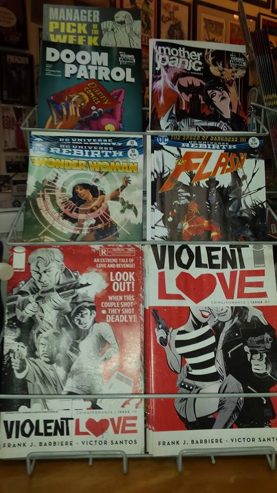 Ich Liebe Comics !: Happy New Comics Wednesday 11/9/16