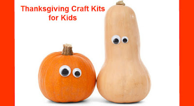 Thanksgiving craft kits for Girl Scouts and class parties.