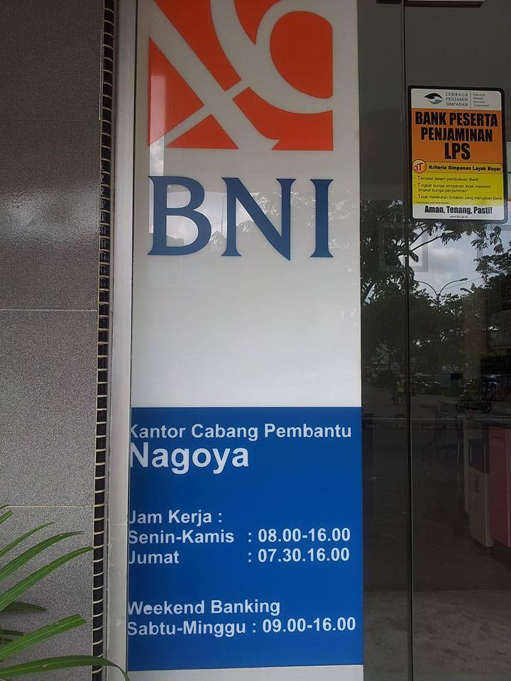 Sarah Jalan Bni Nagoya Batam Melayani Kebutuhan Nasabah Di Hari Sabtu Dan Minggu