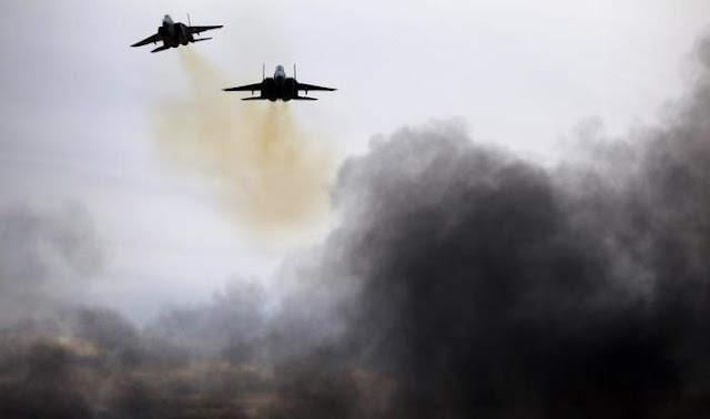 عدوان ثلاثي على سوريا وعشرات الصواريخ تستهدف دمشق وريفها