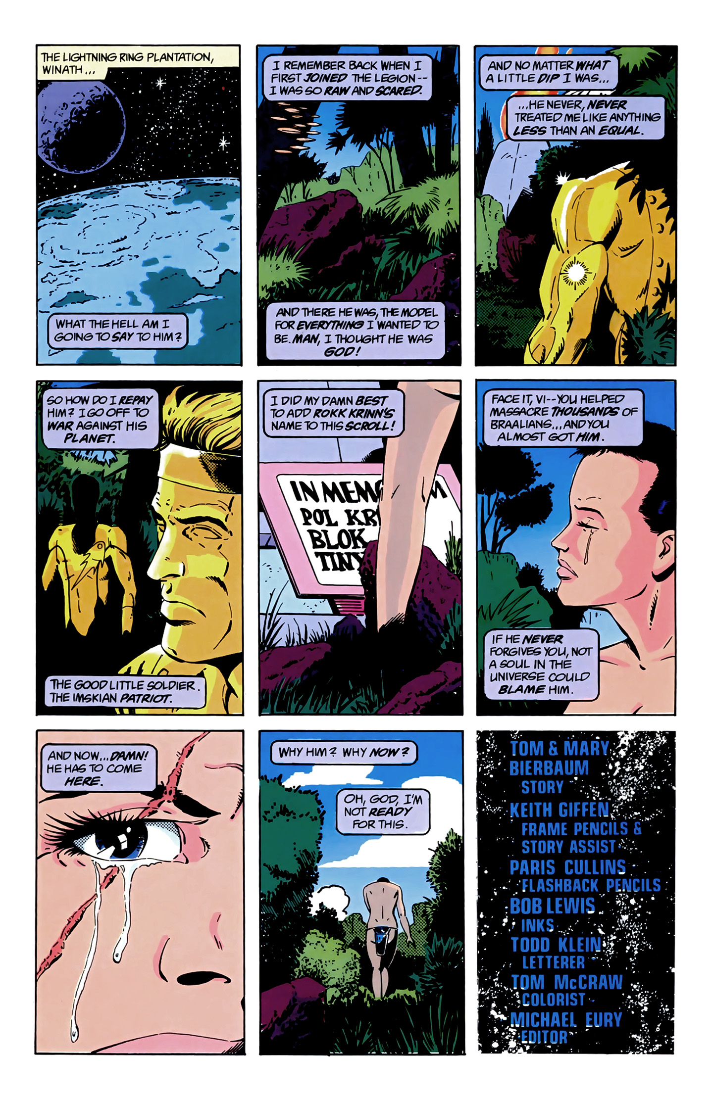 Legion of Super-Heroes (1989) 9 Page 22
