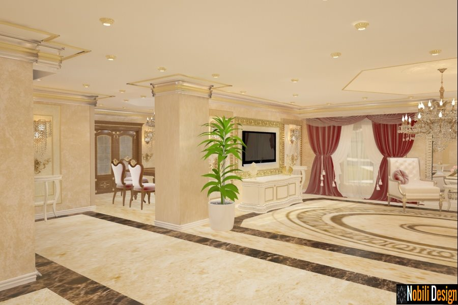 Design interior dormitor apartament Constanta - Amenajari interioare Constanta pret