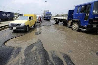 FUEL MARKETERS BEGIN REPAIRS OF APAPA ROAD