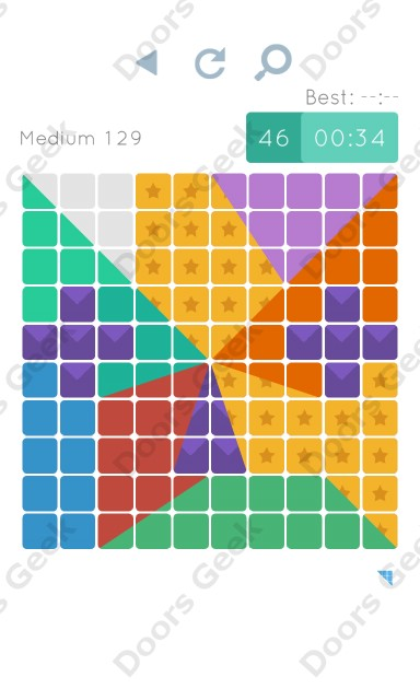 Cheats, Walkthrough for Blocks and Shapes Medium Level 129