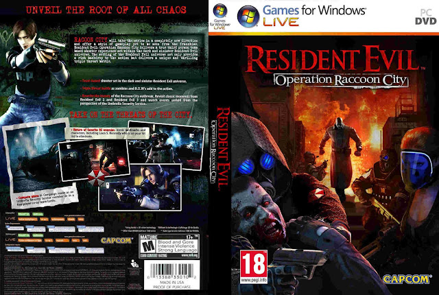 تحميل لعبة Resident Evil Operation Raccoon City برابط واحد مباشر