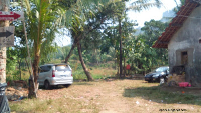 Gunung Munara Parkir Mobil