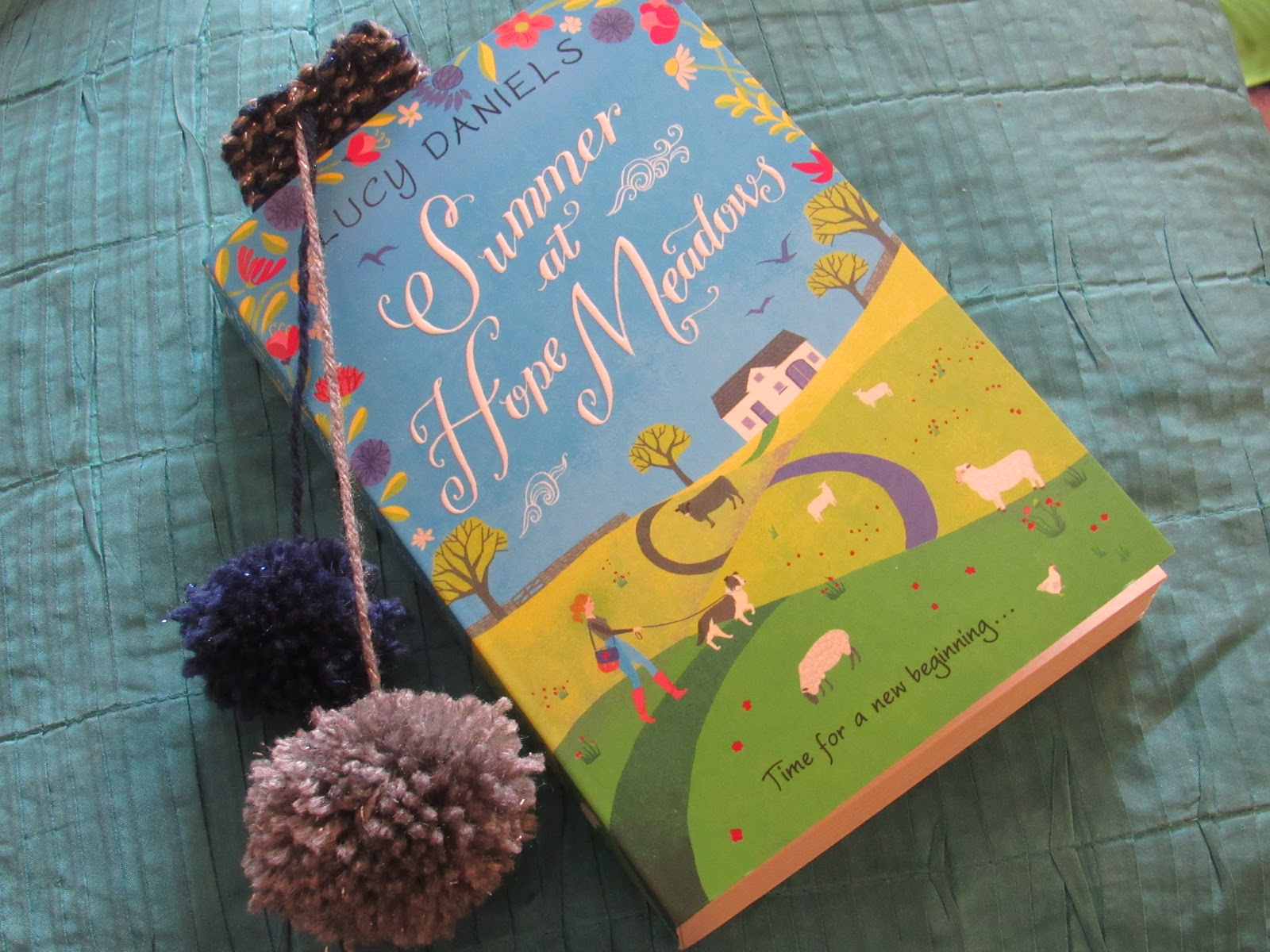 Blooming Fiction, Book Review | Summer At Hope Meadows