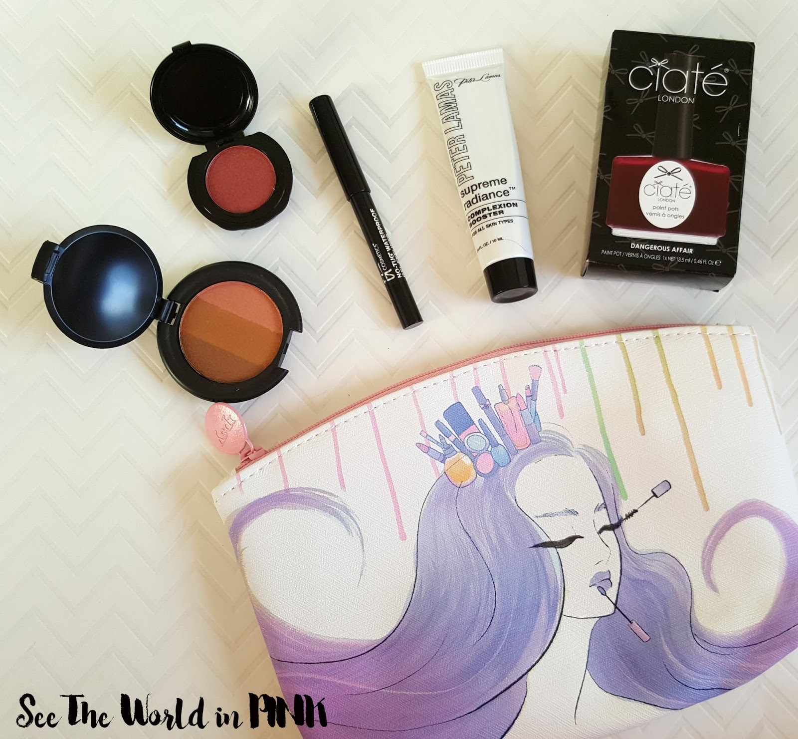 August 2016 - Ipsy Glambag Review and Unboxing