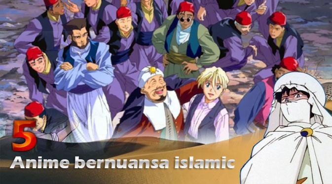 ini 5 Anime ini Ternyata ada scene Islami nya, Ada Adegan sholat juga