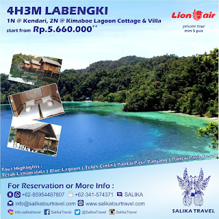 4H3M Pulau Labengki - Salika Travel