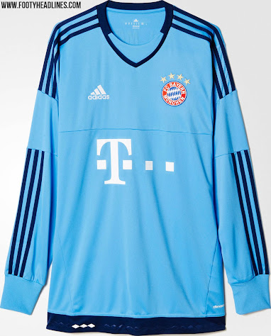 Bayern München 15-16 Goalkeeper Shirts Released - Sports kicks 6ed9409f2