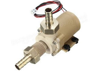 Solar Hot Water Pump Brushless DC Motor 12V
