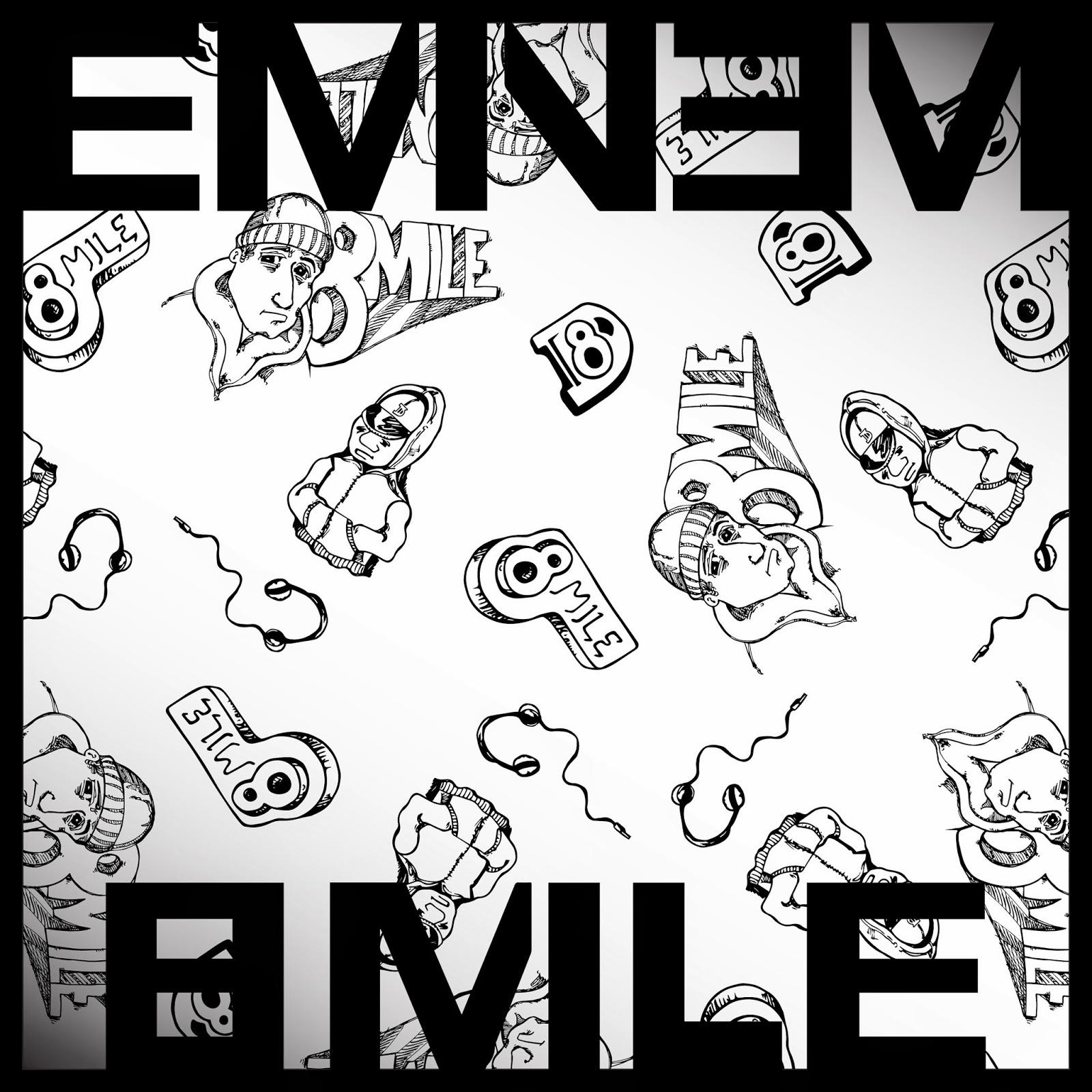 "Eminem Slim Shady Poster Wall Art Home Decor Photo HD Print 24x24/"""