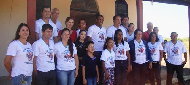 Famílias Missionárias participam de encontro de formação em João Pinheiro (MG)