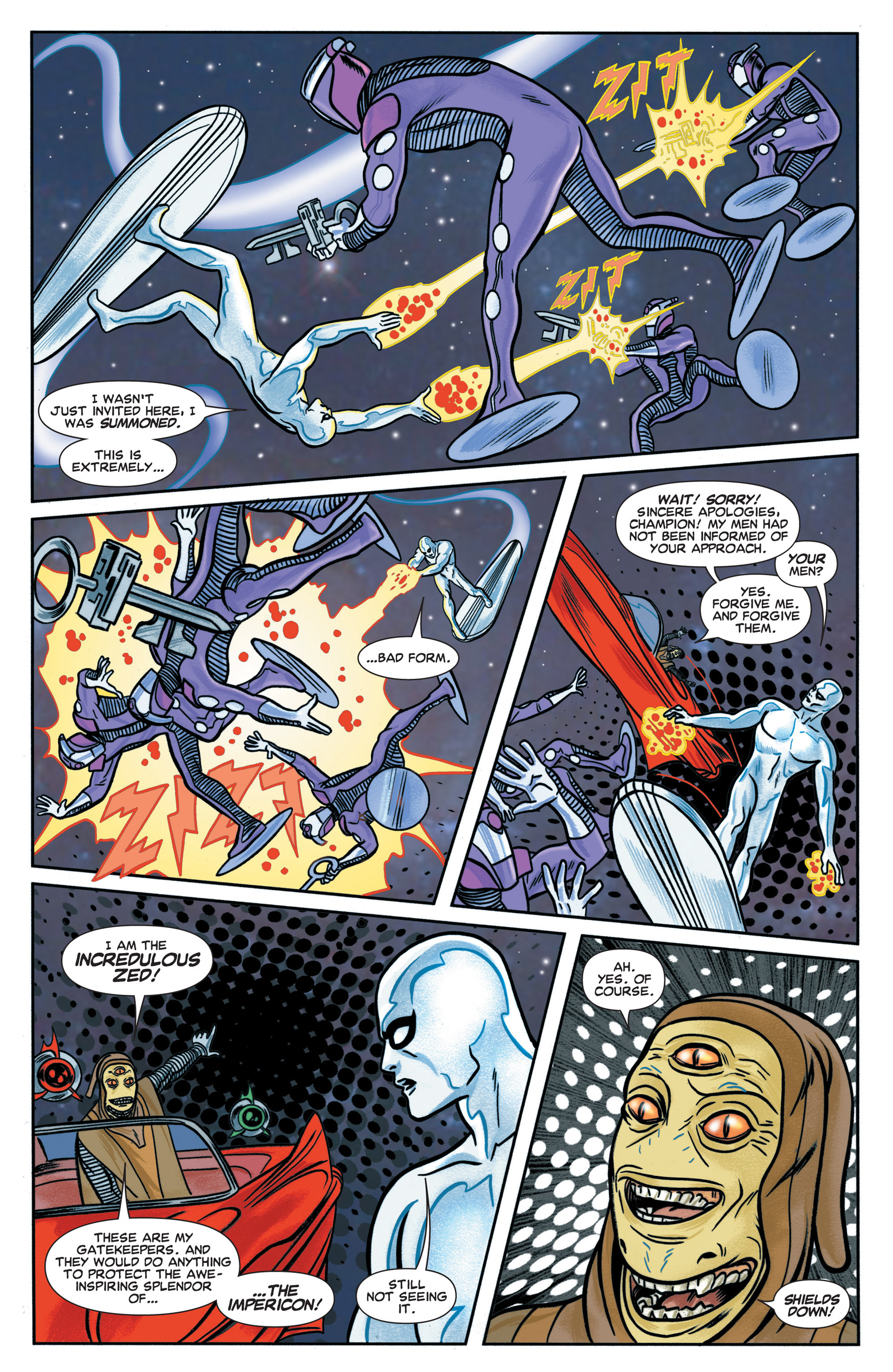 Read online Silver Surfer (2014) comic -  Issue #1 - 11