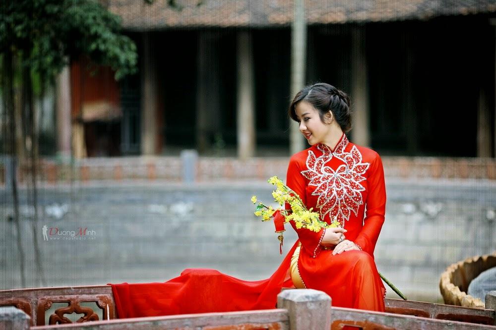Ảnh đẹp girl xinh Áo dài truyền thống Việt Nam - Ảnh 02