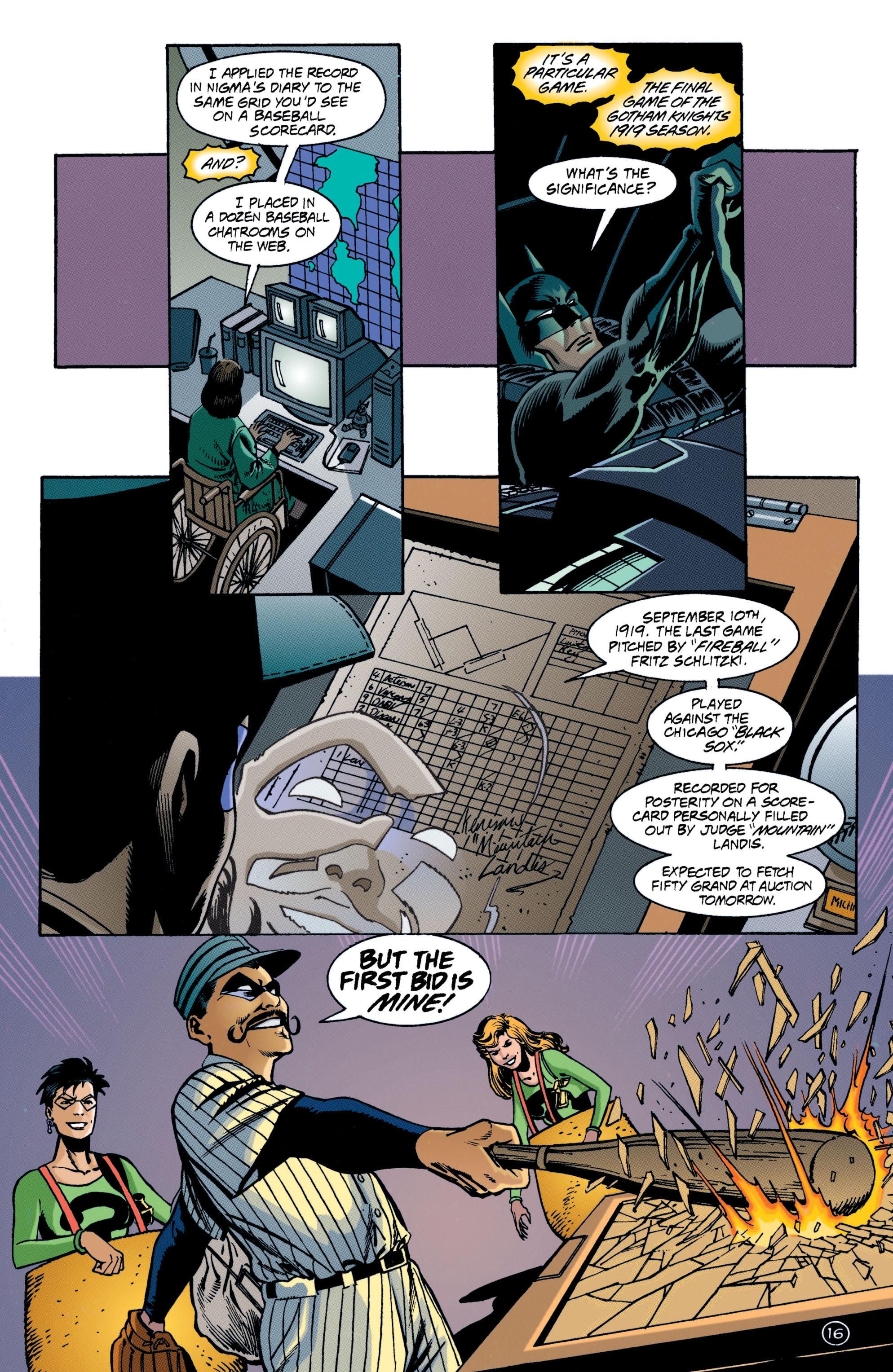 Detective Comics (1937) 707 Page 16