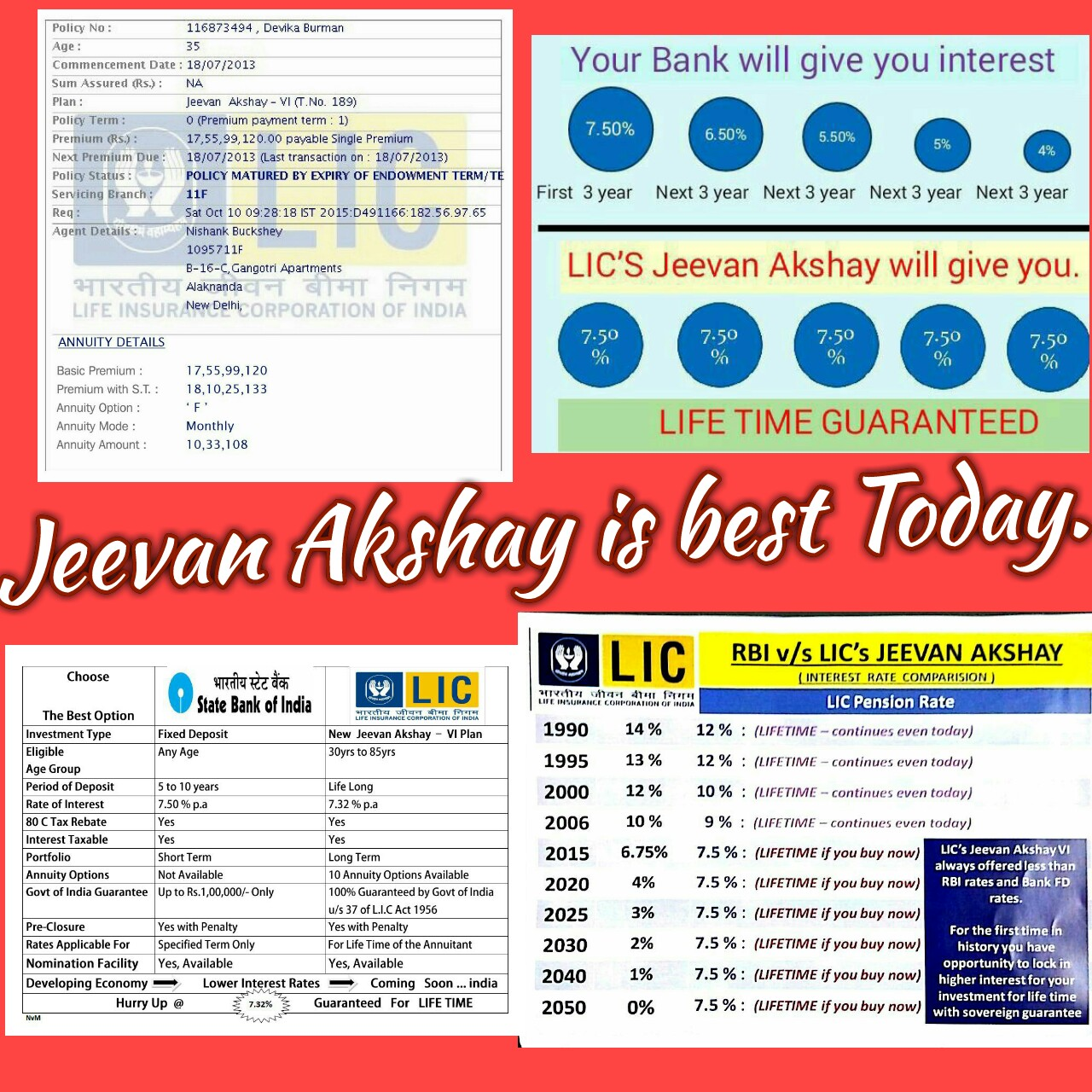 Lic New Jeevan Anand Application Form Pdf