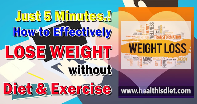 Just 5 Minutes to Lose Weight