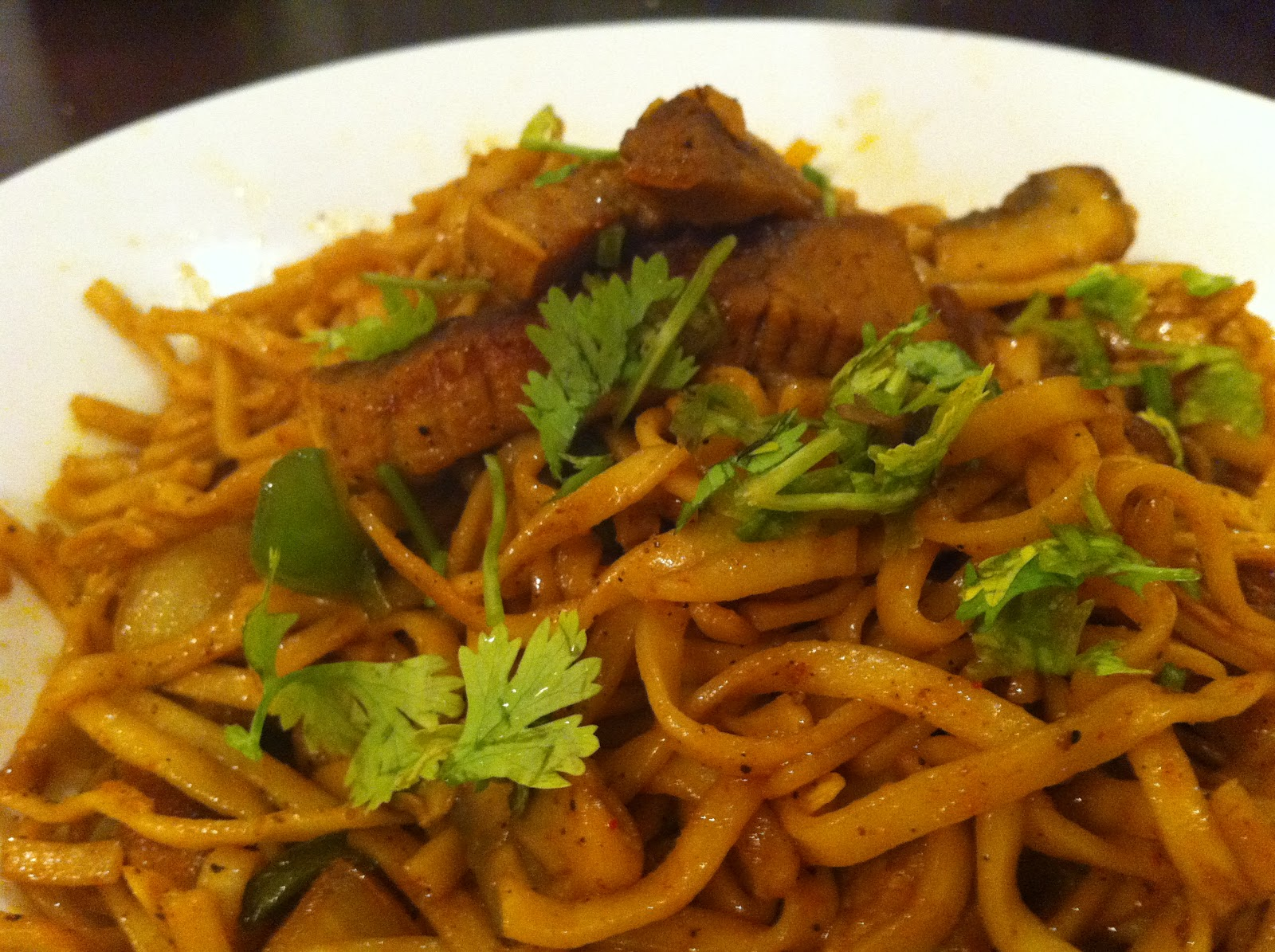Spicy Beef Noodles-Desi Chinese way!   the spice whisperer