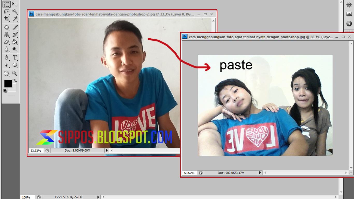 Cara Menggabungkan Foto Terlihat Nyata Dengan Photoshop Edit Kreatif