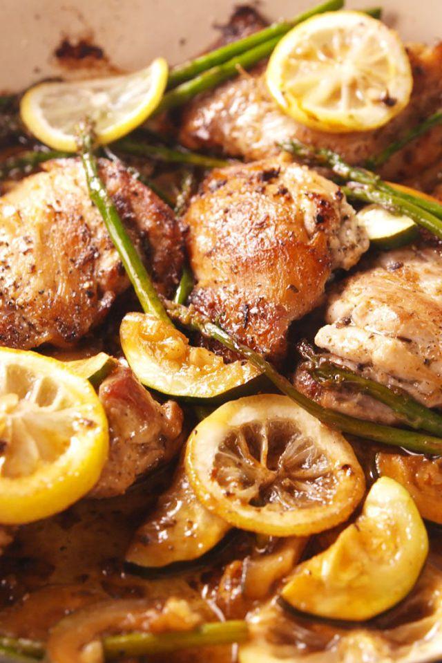 Garlicky Greek Chicken