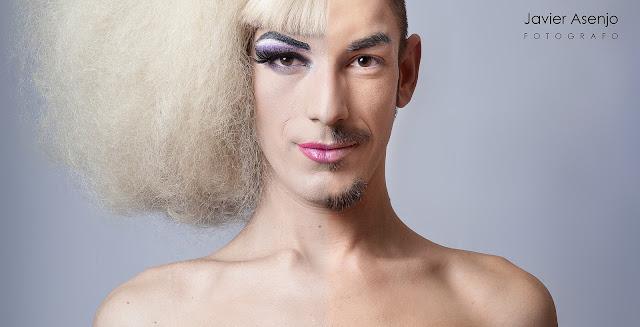 DracQueen mitad hombre mitad mujer