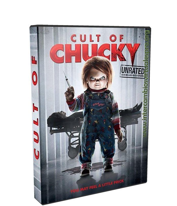 el culto de chucky poster box cover