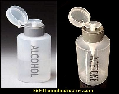 Push Down ACETONE Dispenser bottle